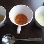 エッフェルナインカフェ - 3種類のスープは飲み放題