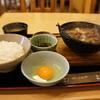 さんのみや 三ッ輪 - 料理写真: 牛鍋定食850円の全景