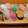 力寿し - 料理写真: 上にぎり寿司