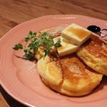 グリーンノースカフェ - 料理写真:ナチュラルパンケーキ