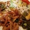 黒豚とんとん - 料理写真:今日のランチ・生姜焼き600円