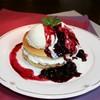カフェテラス外苑 - 料理写真:ブルーベリーパンケーキ