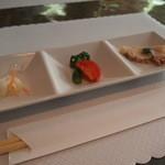 錦水 -  前菜