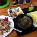 瀬戸内ラーメン 大島 - つけ麺(Aセット)
