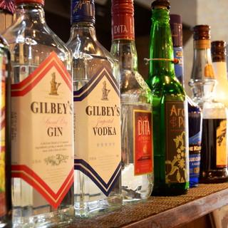 アルコールは種類豊富♪