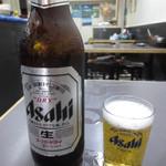大阪飯店 -  ビール大瓶 500円
