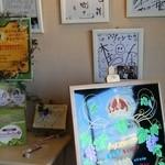 石窯パン工房 アヴァンセ -  有名人のサイン☆