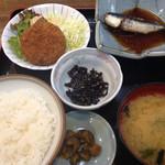 舟よし - 2014/5/28のおふくろ定食 700円