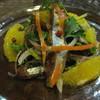 マ・ヴィー - 料理写真:秋刀魚とオレンジのサラダ