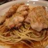 欧風創作料理 ファイン - 料理写真:スープパスタの上に、香ばしい焼いた鶏肉
