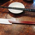 博多 一風堂 - つけ麺用箸