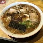 天琴 - ラーメン大盛り(550円)