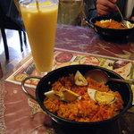 ダージリン - 印度炒飯、もとい、海老のビリヤニ