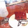 エフズ・カフェ - 料理写真:シフォンケーキセット 600円〜 チョコと抹茶から選べます♡