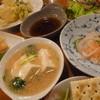 呑者家 - 料理写真:注文した料理、勢ぞろい