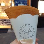 ジェラートピケカフェ クレープリー - エシレバターとお砂糖のクレープ