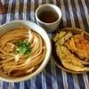 竹松うどん店 - 料理写真: かけうどん冷&天ぷら各種
