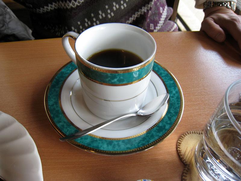 コーヒーショップ橡