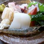 海鮮料理 磯 -  活小太蝦、鰆、ホタテ、北寄貝、烏賊
