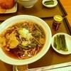 レストラン小梨 - 料理写真: 山菜・茸そば