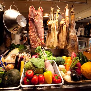 新鮮野菜と創作イタリアンが自慢の野菜専門店!