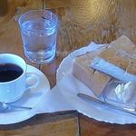 ウオールナット - 珈琲にトースト