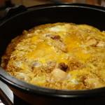 かるいち - 料理写真:鶏すきの〆で作ってくれる親子丼は絶品です!