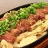 炙り者 - 料理写真:牛炙りステーキ鉄板