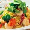 ナポリのかまど - 料理写真:海老とブロッコリーのペペロンチーノ