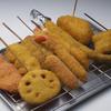 串カツ田中 - 料理写真:名物串カツ。衣・油・ソースすべてがオリジナルブレンドです。