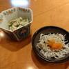 鉄板焼 はしもと - 料理写真:ゴーヤのツナ和えとしらす