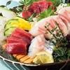 青柚子 - 料理写真:魚菜コース刺身