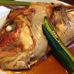 27854409 - 真鯛かぶと煮付け