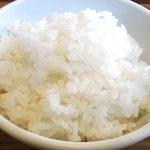 マナ - チキンのとうがらし焼き 880円 のご飯