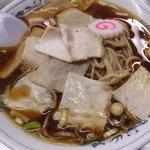 江ぐち - チャーシュー麺