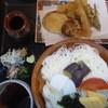 辰巳庵 - 料理写真:野菜天付冷麦