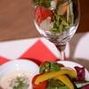 ブランカフェ - 料理写真:数種類のオーガニック野菜で食べるバーニャカウダは最高☆