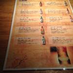 踊る魚 - 2014/5/某日 オリジナル酒2