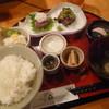 我飯 - 料理写真:「境港産 天然鰤刺(茎わさび昆布付)御膳 (950円)」。 豪華なランチです♪