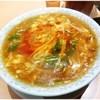 鴻運楼 - 料理写真:酸辣湯麺 950円 とろとろが主成分の餡でした。