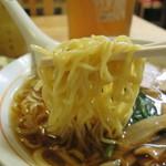 錦乃 - 中太の中華麺。