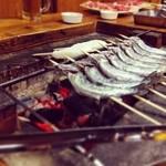 青木屋 - 囲炉裏焼きと五平餅
