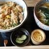 ひら川 頓珍館 - 料理写真:親子丼 ¥680(税込)+小さめのおうどん ¥200(税込)