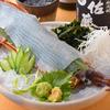 魚の三是 - 料理写真:三是名物 活イカ姿造り