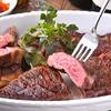 グリルド エイジング・ビーフ - 料理写真:炭火でじっくり焼き上げた熟成肉をご堪能下さいませ