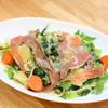 有機菜園ダイニング・タベルナ - 料理写真:当店1番人気『たっぷり旬野菜tpパルミジャーノチーズの塩味パスタ』