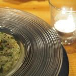noka table - バジルのクリームリゾット