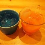 noka table - 野菜の梅酒&芋焼酎の魔王