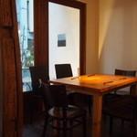 noka table - 窓際の席