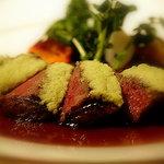 レストラン・フォレスト - 料理写真:五島牛サーロインのグリル 生山葵風味
